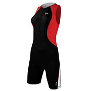 TYR Female Comp Tri Suit with Front Zip